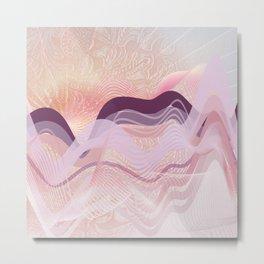 Spring Ocean Metal Print