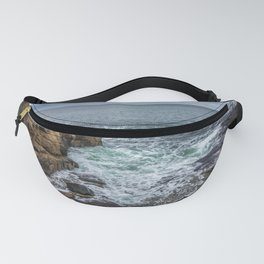 Waves at Rafe's chasm Fanny Pack