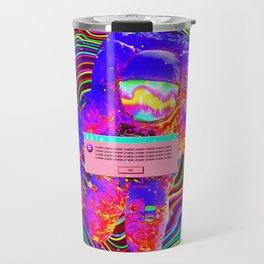 Trippy astronaut Travel Mug