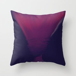 Violet Flame Torch Throw Pillow