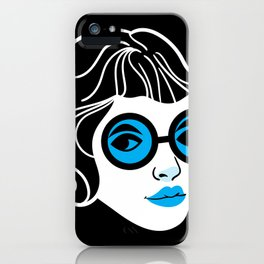 Lookout! Blue Version iPhone Case