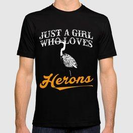 Herons Tee Shirts For Girls T-shirt