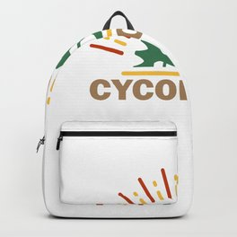 Cycologist Bycicle Biker Riding Party Velo Club Backpack
