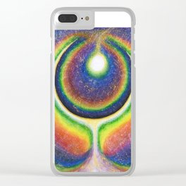 Deep Layers Clear iPhone Case