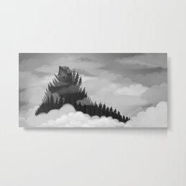 The Beast Metal Print