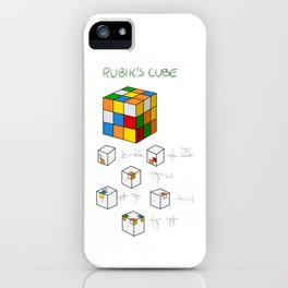 How to solve Rubic`s cube iPhone Case