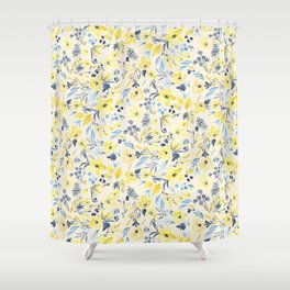 Golden Morning Shower Curtain
