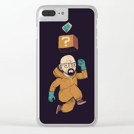 heisenberg power up Clear iPhone Case