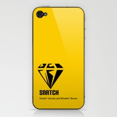 Snatch iPhone & iPod Skin