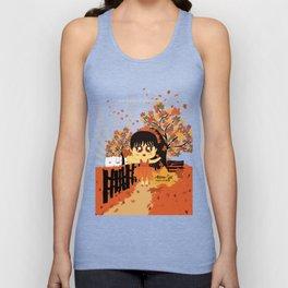 Autumn Girl Unisex Tank Top