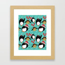 Eleven Pipers Piping Framed Art Print