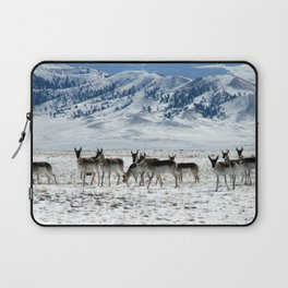 Pronghorns in the Basin Laptop Sleeve