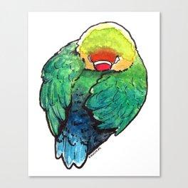 Bird no. 450: Self Care Canvas Print