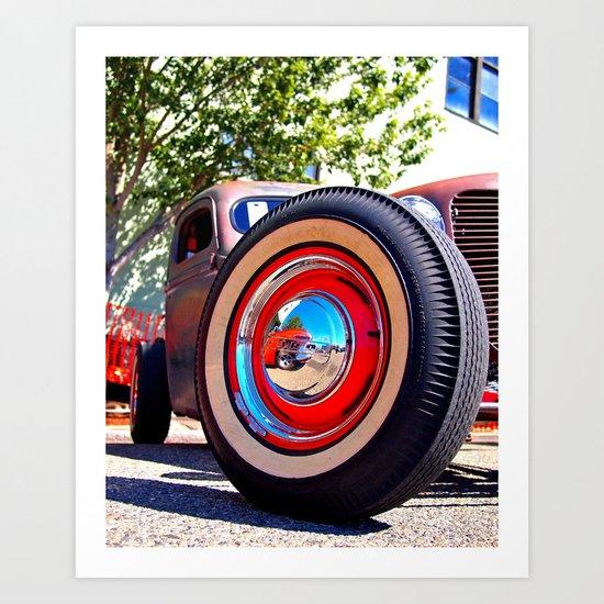 The wheel deal Art Print