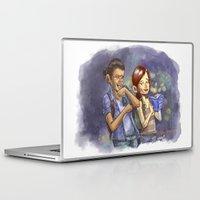 pun Laptop & iPad Skins featuring No Pun Intended by Josh Mauser