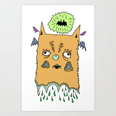 Murciélago#4 Art Print