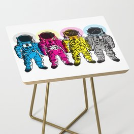 CMYK Spacemen Side Table