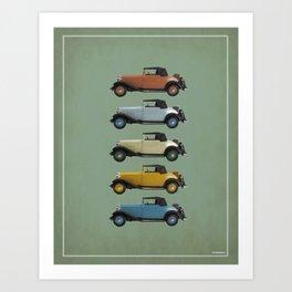 Five Vivastella's Art Print