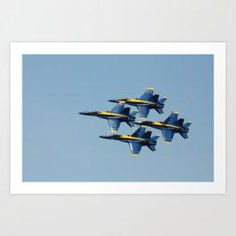 United States Navy Blue Angels Art Print