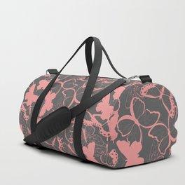 Butterfly pattern 012 Duffle Bag