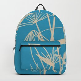 TROPICAL FLOWERS IN A VASE Backpack