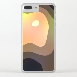 Slipping Away Clear iPhone Case