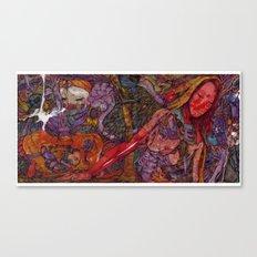 Under beauty(Bad feeling) Canvas Print