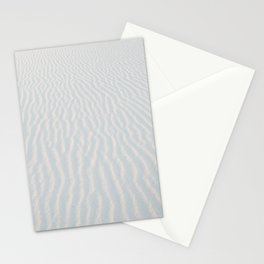 White Sand Patterns of the Gulf Coast Stationery Cards