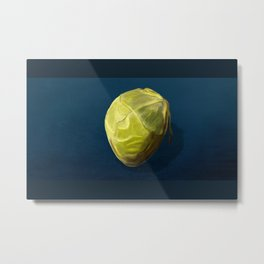 Brussels Sprout Metal Print