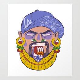 DTM Azteca Art Print