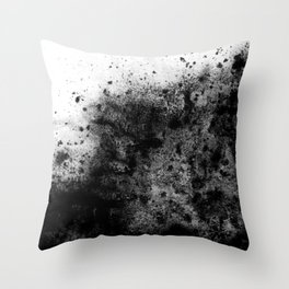 The Sherry / Charcoal + Water Throw Pillow