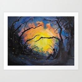 Soul Offering Art Print