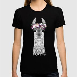 FLOWER GIRL ALPACA T-shirt