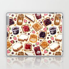 Peanut Butter and Jelly Watercolor Laptop & iPad Skin