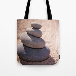 Balancing the world Tote Bag