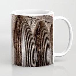 Antique Chocolate Egg Mold Coffee Mug