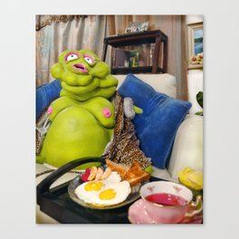 Chester: Spot of Tea Canvas Print