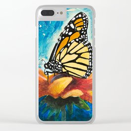 Butterfly - Discreet clarity - by LiliFlore Clear iPhone Case