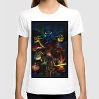 dragons T-shirts featuring DRAGONS!! by Yahualli