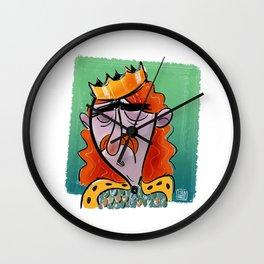 Fallen King Wall Clock
