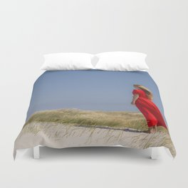 Lost in thought Duvet Cover