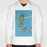 palm tree Hoodies featuring Palm tree by Laura James Cook