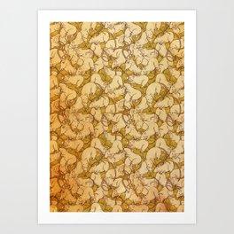 A world of rats Art Print