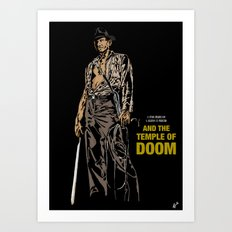 Indiana Jones: And the Temple of Doom Art Print