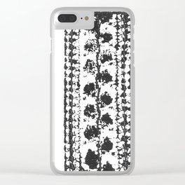Crochet Impressions: LEAVES Clear iPhone Case