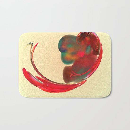 the red   (A7 B0131) Bath Mat