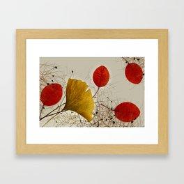 Autumnal colors Framed Art Print