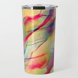 Neon Pop - Tropical Ink Painting Travel Mug