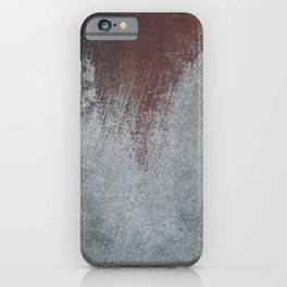 Wall half painted iPhone Case