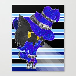 Veigar with Stripes Canvas Print